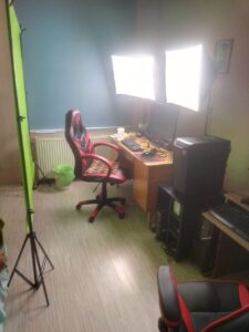 my vlogger studio